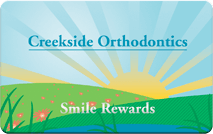 creekside orthodontics smile rewards